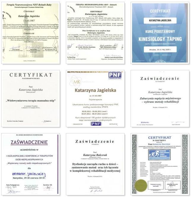 certyfikaty rehabilitacji